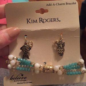 Kim Rogers Add-a-charm Bracelet